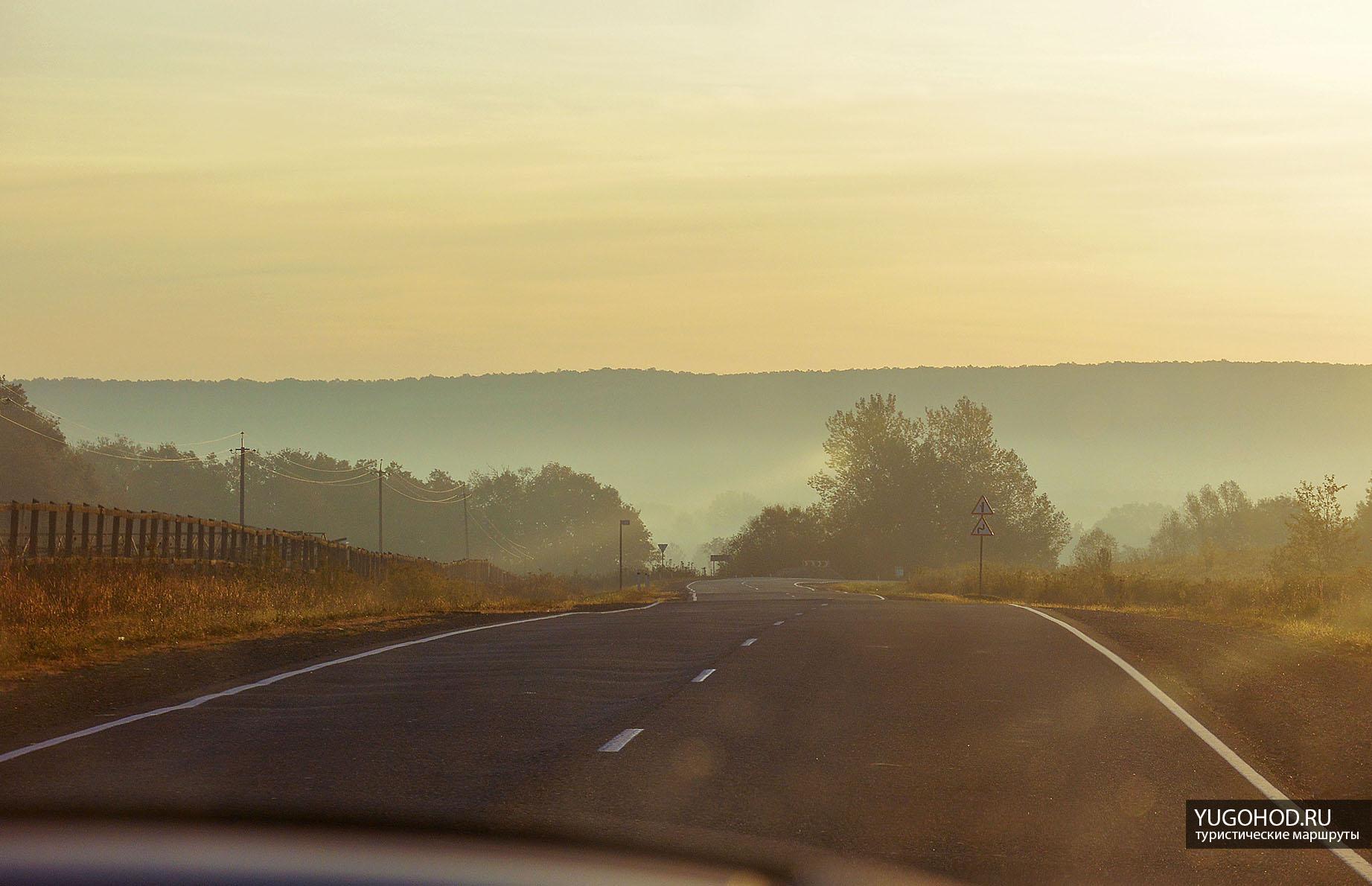 Дорога на гору Индюк