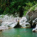 Каньон «Белые скалы» (Навалишинское ущелье) — каньон и джиппинг из Сочи
