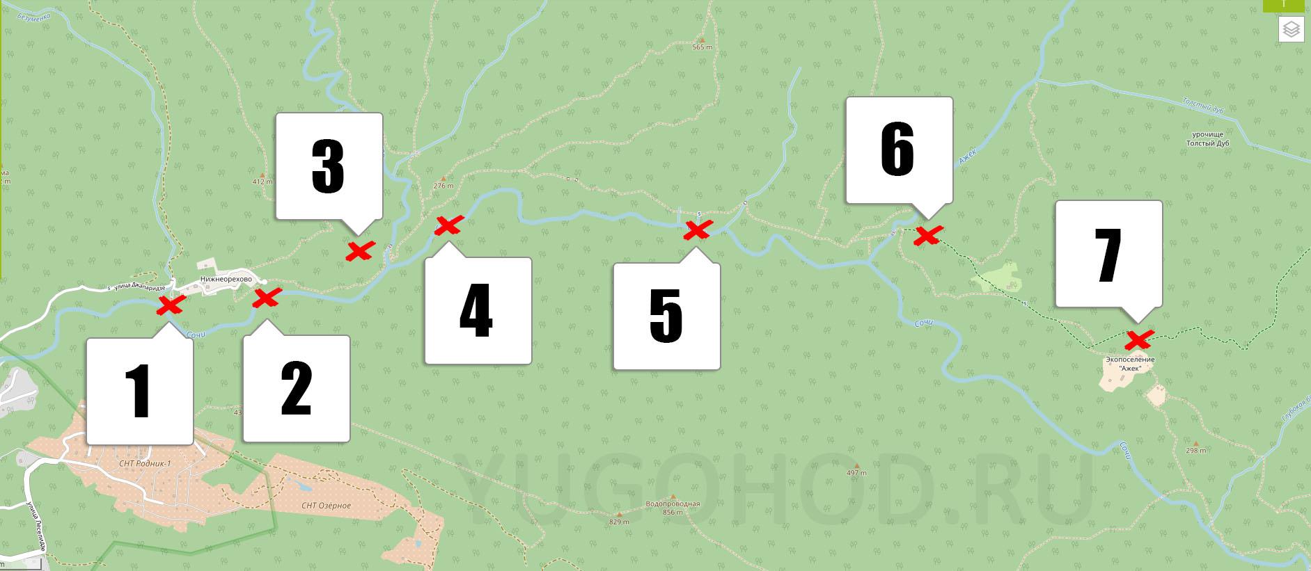 Ажек карта