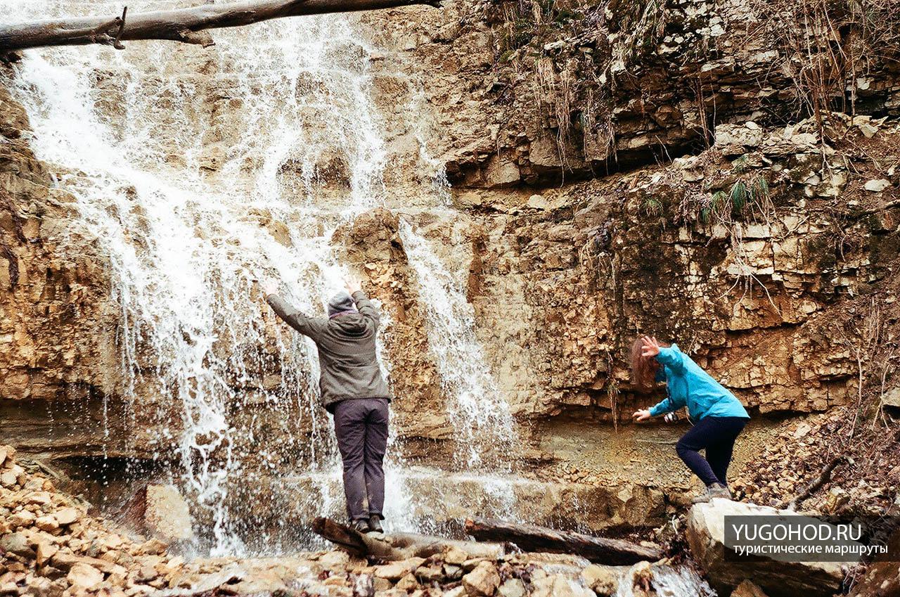 Алебастровый водопад