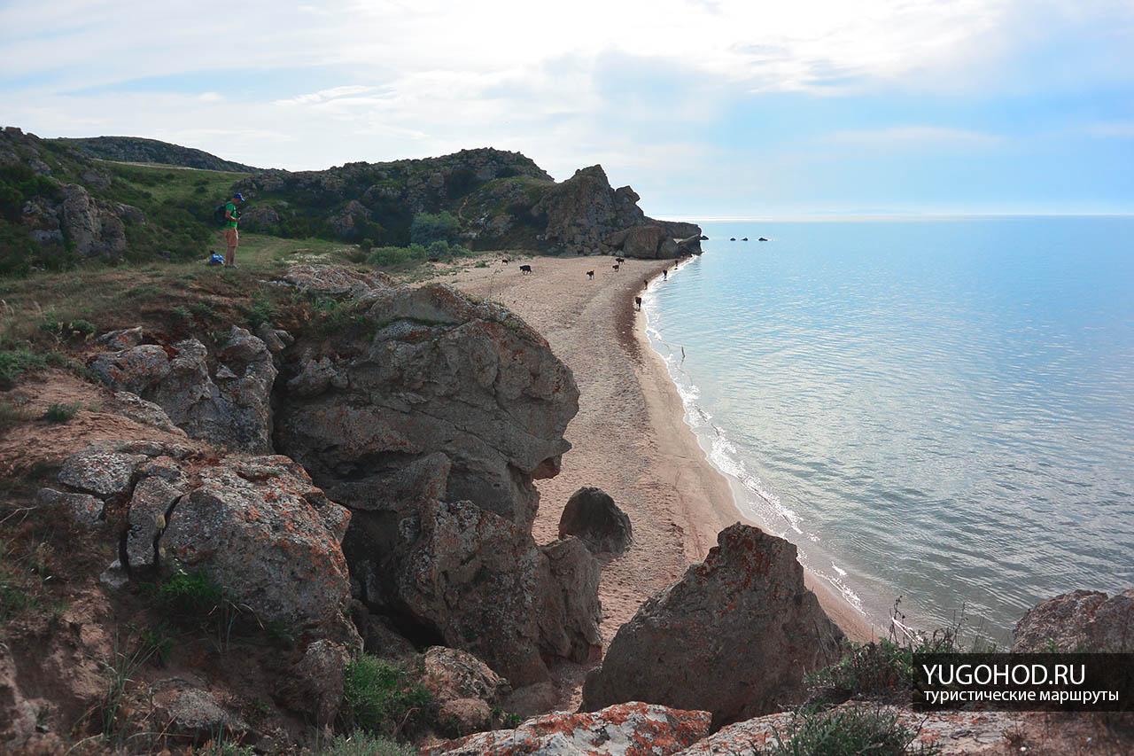 Караларский заповедник, Генеральские пляжи