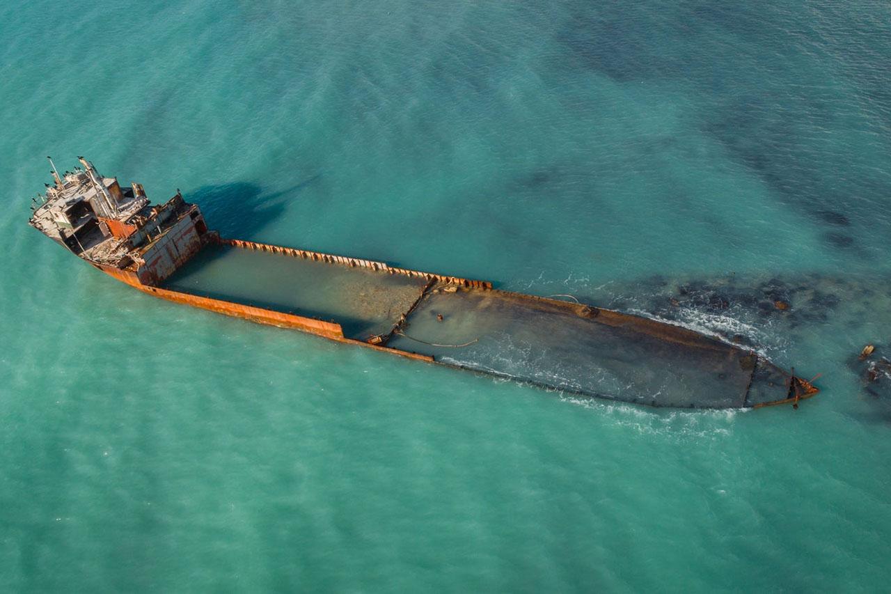 судно Кабардинка