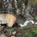 Менделиха — парк водопадов в курорте «Роза Хутор»