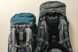 Мужской и женский рюкзак сравнение