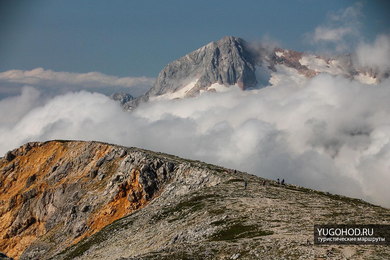 Вид на вершину Фишт
