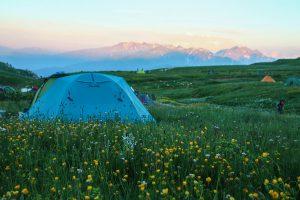Палаточный лагерь Инструкторская щель