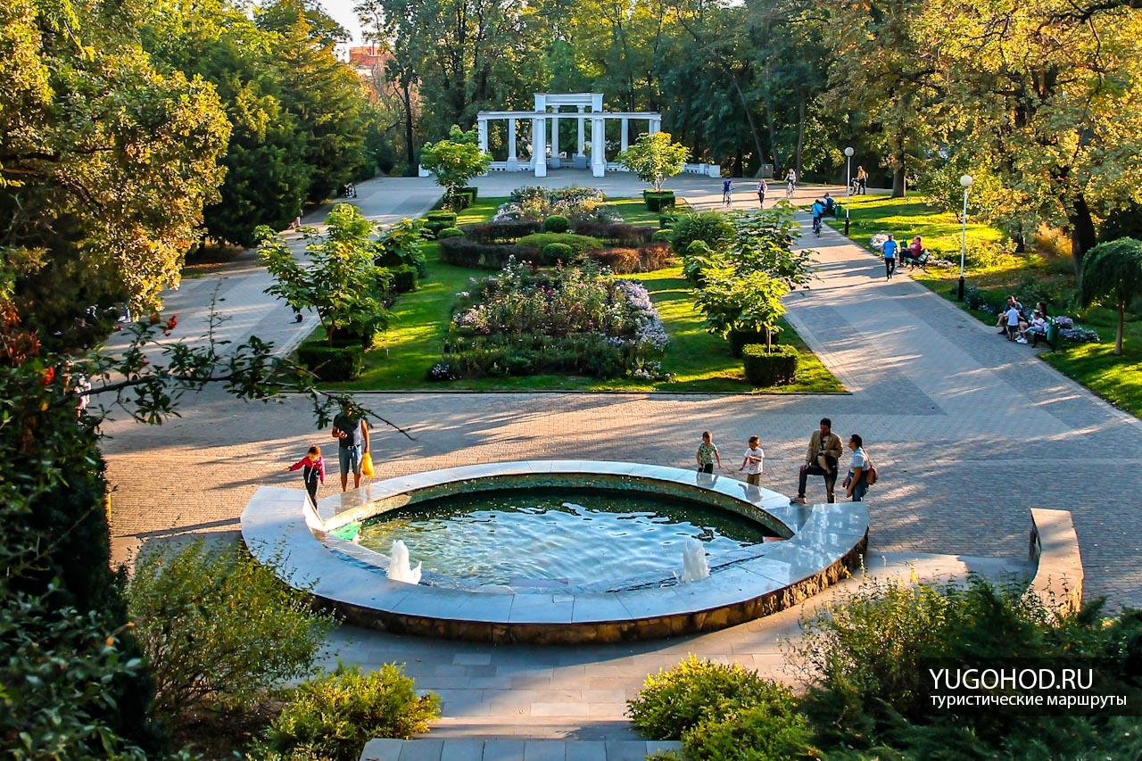 Парк Городской сад в Краснодаре